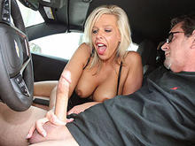 MILF Carey Riley Hand Job