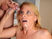 Mature Mom Sky Martin Jerks Step Son