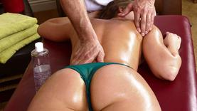 pretty milf getting hot massage