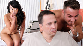 asian milfs sucking cock with doctor