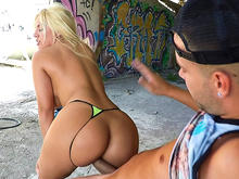 Blondie Fesser and her magnificent ass
