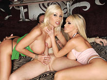 Nikki Benz, Puma Swede, Alec Knight in 2 Chicks Same Time