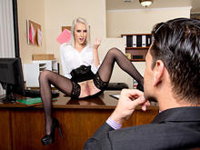 Cadence Lux, Ryan Driller in Naughty Office