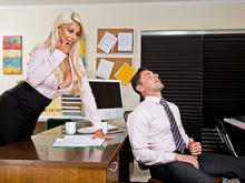 Bridgette B. & Ryan Driller in Naughty Office