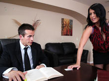 Lacie James & Talon in Naughty Office