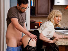 Nina hartley and not her daughter fucks with young boy 7