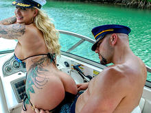 Doing Anal In A Wild Boat Ride