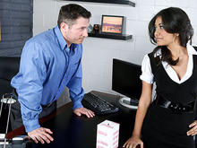 Ruby Rayes & John Strong in Naughty Office