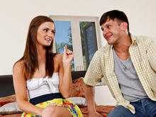 Lily Carter & Anthony Rosano in My Sisters Hot Friend