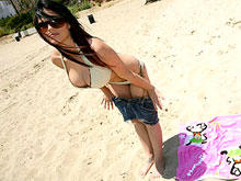 Big Boobed Beach