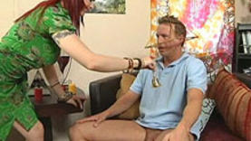 horny slut gives a good blow job with doctor