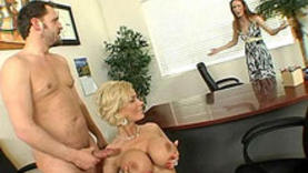 sexy milf in the office