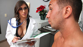 high heels latina whore with doctor