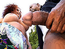 Diesel's Large Chunk For Joslyn's Mouth