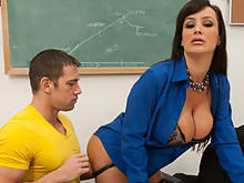 Lisa Ann Give A Pupil A Private Lecture