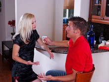 Heidi Hanson & Chris Johnson in My Friends Hot Mom