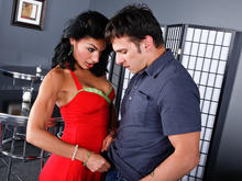 Persia Pele & Anthony Rosano in Seduced by a cougar