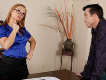 Katja Kassin & Billy Glide in Naughty Office