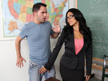 Cassandra Cruz & Kris Slater in My First Sex Teacher